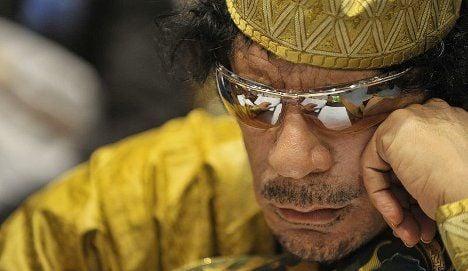 Qaddafi accuses Sarkozy of being 'war criminal'