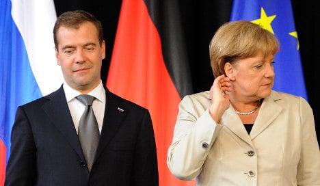 Merkel plays down future Russian gas dependence