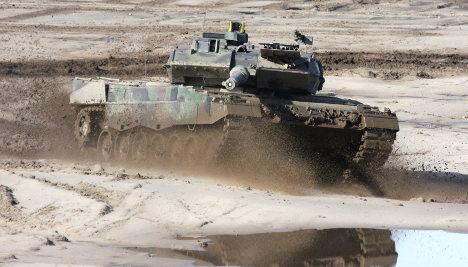 Saudi tank deal may be dirty, Greens MP says