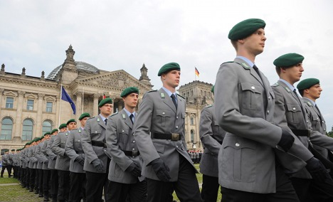 Bundeswehr recruits quitting voluntary service
