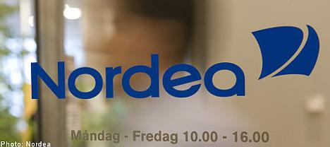 Nordea reports fall in profits