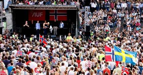 Stockholm honours terror victims