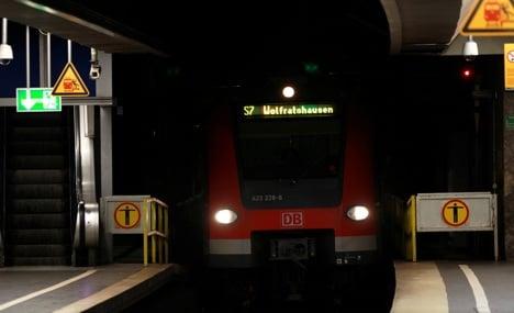 Munich S-Bahn train driver kicks black passenger after using racial epithet