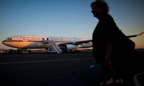 Merkel wants old East German plane back