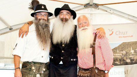 Three beards that rocked the Alps