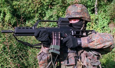 Libyan rebels use German weapons
