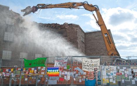 Deutsche Bahn boss offers to delay Stuttgart 21 demolition work