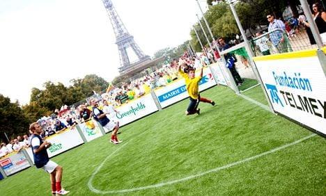 Homeless World Cup kicks off in Paris