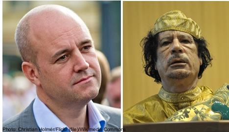 Reinfeldt 'open' to Swedish troops in Libya