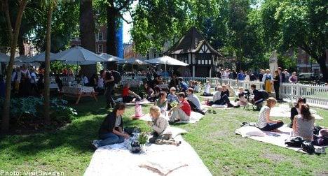 London's Soho Square set for Swedish 'fika'