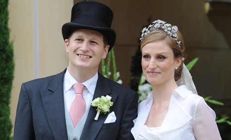 Kaiser heir weds princess in Potsdam