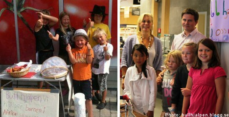 Swedish 9-year-old launches 'bun help' to aid children in Africa