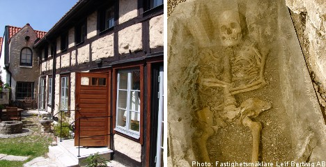 Swedish house sold with skeleton in closet