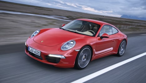Porsche unveils new 911
