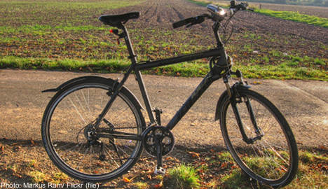 Police return stolen bike after 15 years