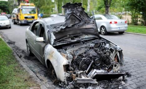 Eleven cars set on fire in Berlin