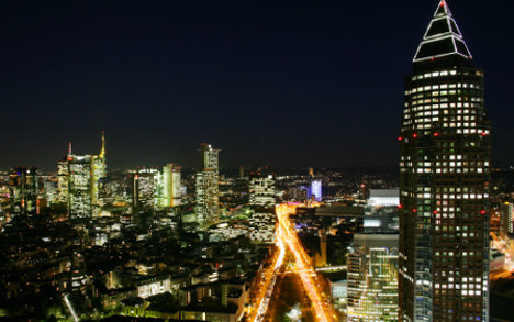 Frankfurt dubbed Germany's crime capital