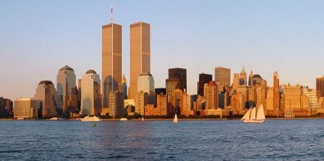 Twin Towers replica in Paris for 9/11 anniversary