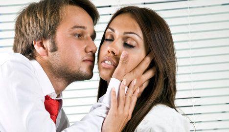 Office etiquette: should kisses be banned?