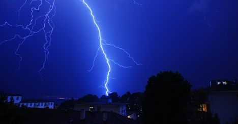 Switzerland on alert as storms draw in