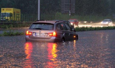 Storms chaos hits North Rhine-Westphalia