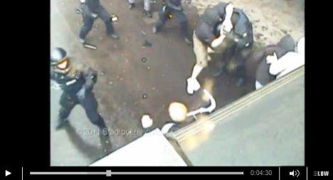 Police release shocking hooligan videos
