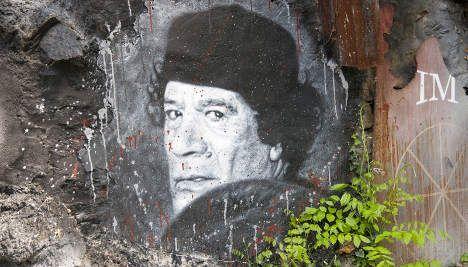 Sarkozy slams 'desperate' Qaddafi