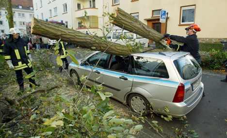 Hailstorms cut western swath of damage