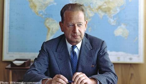 Hammarskjöld's plane 'shot down': report