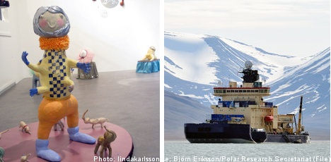 Swedish artist to chart Arctic expedition in clay
