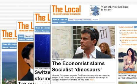 The Local launches France's news in English