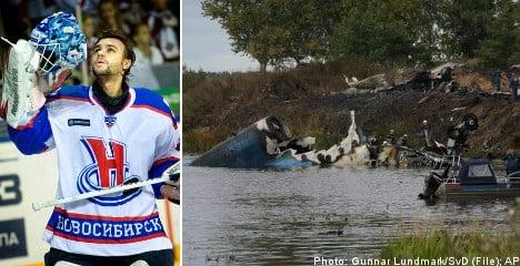 Swedish goalie dead in Russia plane crash