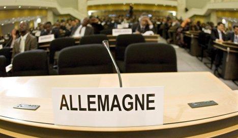 Berlin to boycott UN anti-racism event