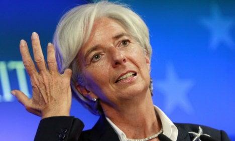 IMF chief urges action on German economy