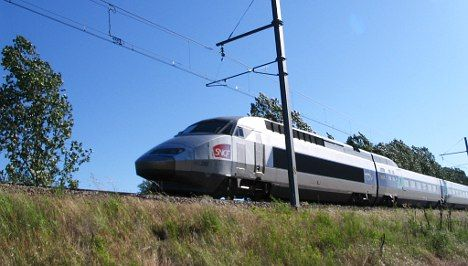 President hops aboard new high-speed train