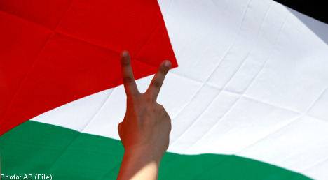 Swedish parties split on Palestinian recognition