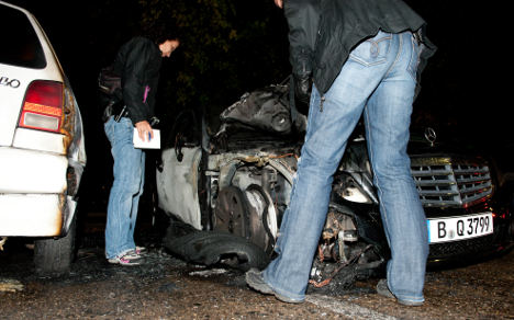 Another car arsonist arrested in Berlin