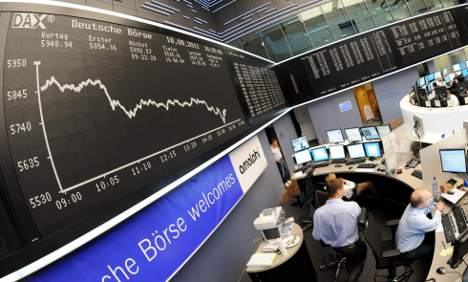 DAX tanks as investors fear global rout