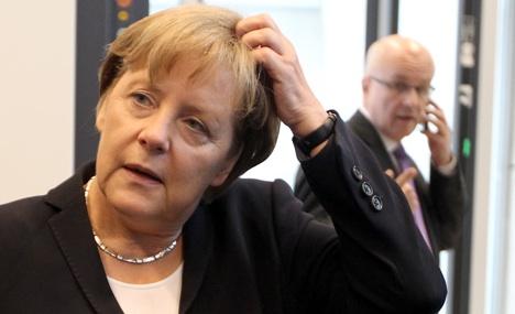 Merkel lacks majority for euro bailout fund