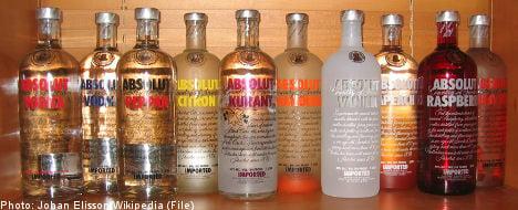 Swedish vodka maker hits Absolut record