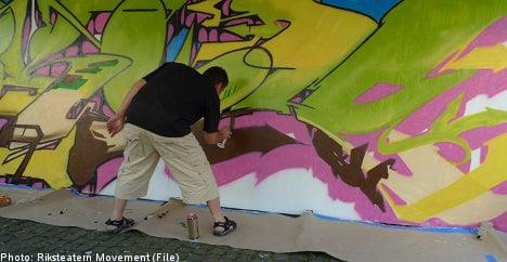 Stockholm graffiti – beating the ban