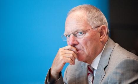 Schäuble wants brand new EU treaty