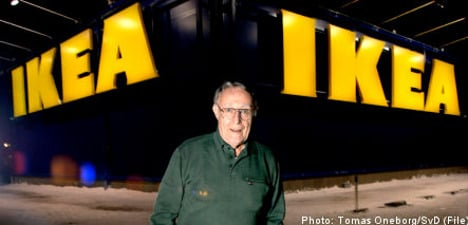 Book re-ignites debate on Ikea founder's Nazi past