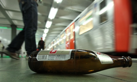 Alcohol ban begins on Hamburg public transport