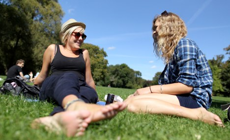 Sunny, warm weekend to offer summery respite