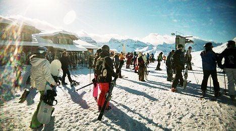 British skiers warned off Switzerland