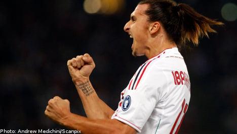 Milan coach pays tribute to 'amazing' Ibrahimovic