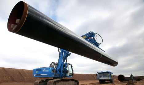 Germany, Russia to launch Nord Stream