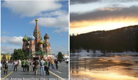 Northern Sweden hails Russian 'invasion'