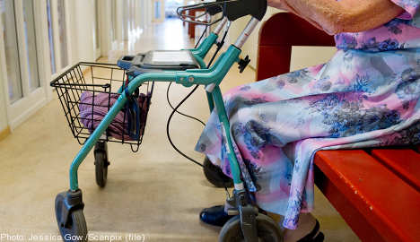 Care home staff weigh diapers to save money